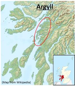 1a Scotland + Argyll
