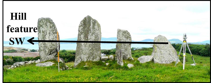 2b. Four stone row, Ind. Dir.