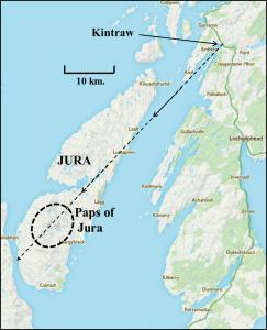 9a. Kintraw to Jura